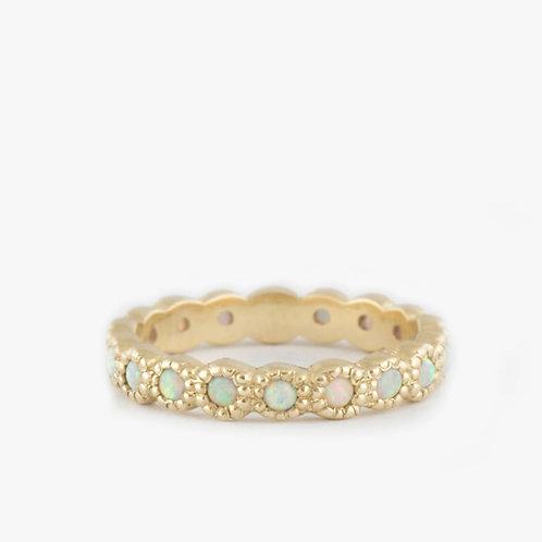 טבעת נצח אופל לבן