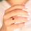 Thumbnail: טבעת רובי קלטית 1.06 ct