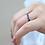 Thumbnail: טבעת 0.95 קרט ספירים