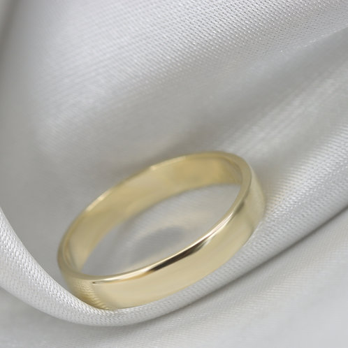"""טבעת נישואין """"לוגאנו"""" מזהב"""