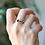 Thumbnail: טבעת אוניקס שחור טיפה