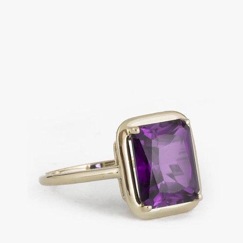 טבעת אמטיסט 6.79 קארט