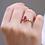 Thumbnail: טבעת רובי ויהלומים