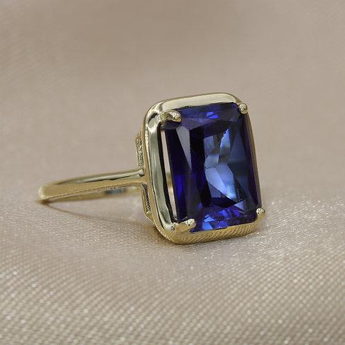 טבעת ספיר 6.9 קראט