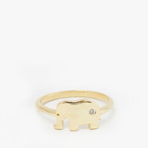 טבעת פיל-יהלום