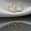 Thumbnail: עגילי לב יהלומים