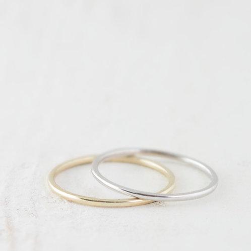 טבעת נישואין בזהב סופר עדינה