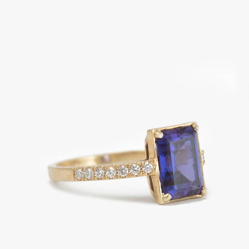 טבעת ספיר
