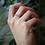 Thumbnail: טבעת חצי נצח אופל