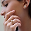 Thumbnail: טבעת מוסונייט 0.74 נקודות