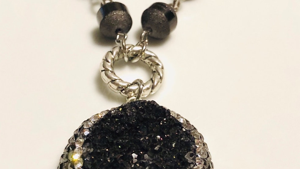 Black beauty layered Necklace