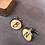 Thumbnail: 1x Paar Individuelle Manschettenknöpfe aus Holz mit, oder ohne Gravur