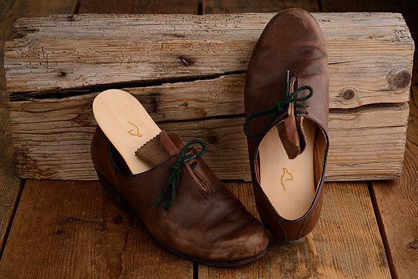 1x Paar Zirbenholzeinlagen für Schuhe