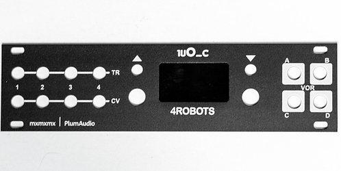 1uO_c - 4ROBOTS - Aluminium Panel w Embedded Screen