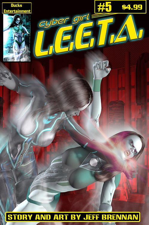 Cyber Girl Leeta issue 5