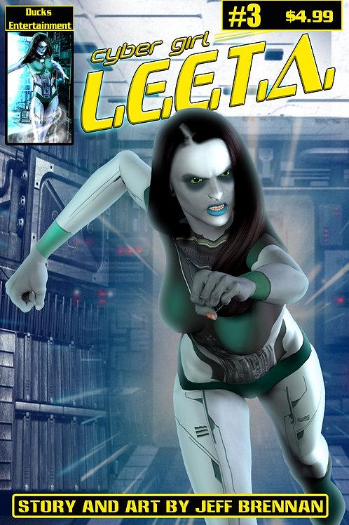 Cyber Girl L.E.E.T.A. Issue 3
