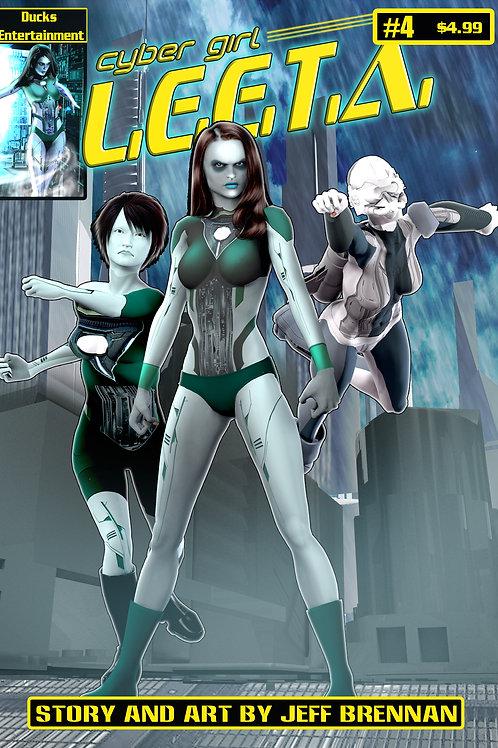 Cyber Girl L.E.E.T.A. Issue 4