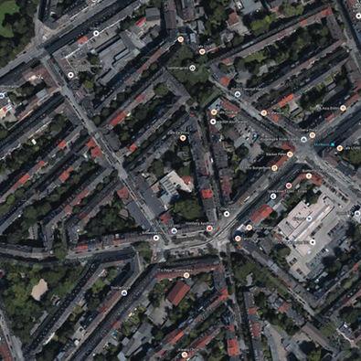 Germania - Essen - abitazioni sing.
