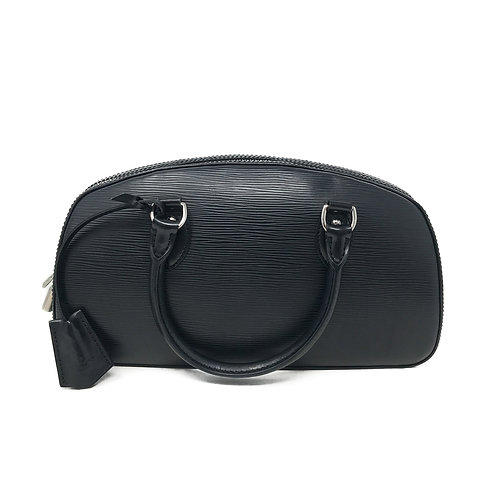 Louis Vuitton Black Epi Pont Nuef PM Bag