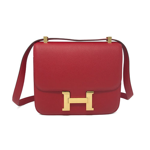 Hermes 23 Red GHW Constance