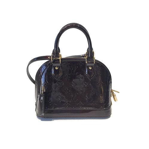 Louis Vuitton Amarante Vernis Alma BB