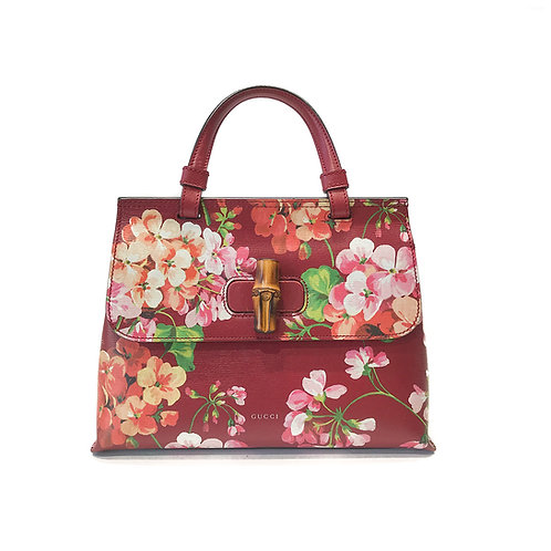 Gucci small Bamboo daily Blooms Top Handle Bag