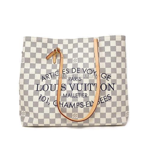 Louis Vuitton Damier Azur Cabas Adventure MM
