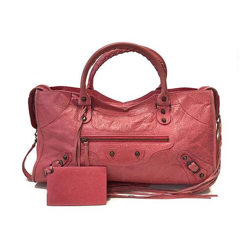 Balenciaga Pink Classic City Bag