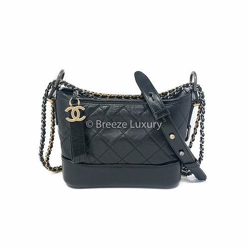 Chanel Calfskin Quilted Small Gabrielle Bag