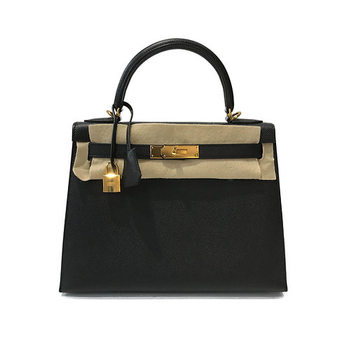 Hermes Epsom Kelly 28 - Stamp T