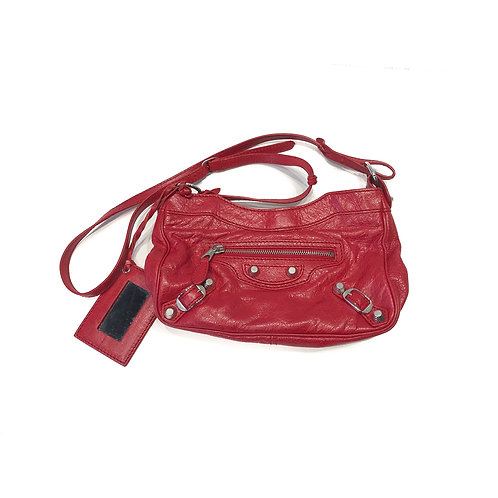 Balenciaga City Red Cross Body Bag