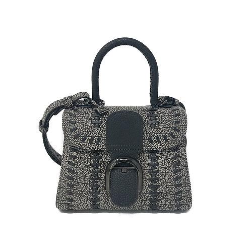 Delvaux Brillant Mini S Tribal Stitch