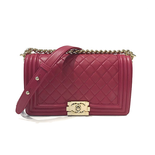 Chanel Medium Le Boy Lambskin Flap