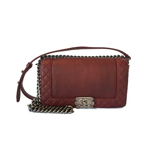 61c1f8dc2d3c Bag and Shoe Cleaner In Vancouver   Breeze Luxury Cleaner   Chanel Reverso  Boy Flap Quilted Medium Bag