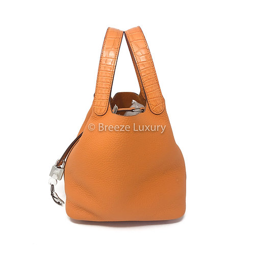 Hermes Abricot Clemence Picotin 18 Touch