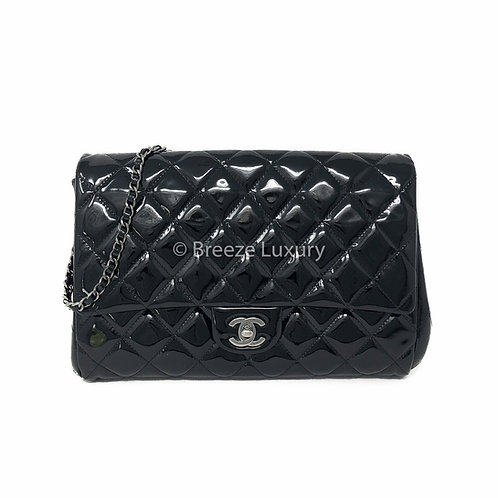 Chanel Timeless Patent Classic Flap