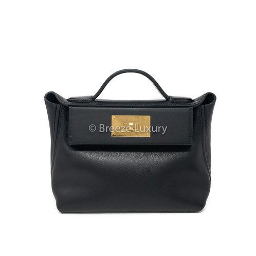 Hermes GHW Black 24/24 size 21