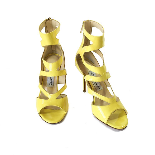 Jimmy Choo Leather Strappy Sandals