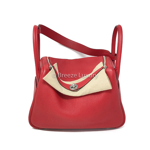 Hermes Q5 Rouge Clemence Lindy 30