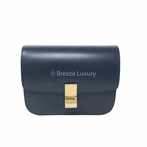 Céline Medium Classic Box Gold Hardware Bag