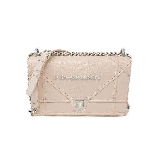 Christian Dior Calfskin Diorama Flap Medium Bag