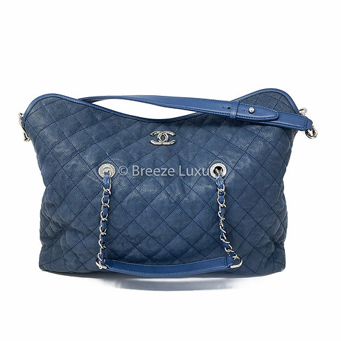 Chanel Riviera Caviar Quilted French Tote