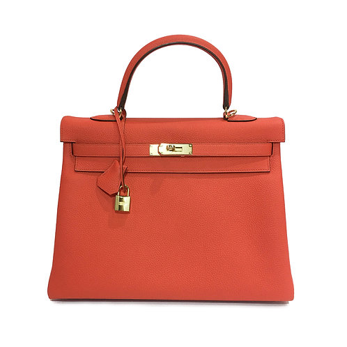 Hermes Clemence Kelly 35 - Stamp T