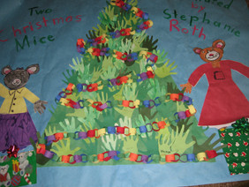 School Visit for Two Christmas Mice