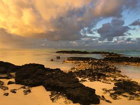 Magic Sunset in Mauritius