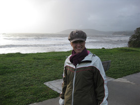 Stormy Sea and my Favorite Hat