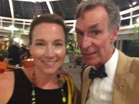 With Bill Nye at the Planetary Society