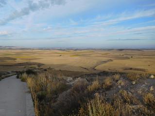Abenteuer Jakobsweg Pilgern durch Spaniens Meseta auf dem Camino Frances.