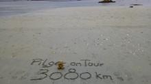 3080 km in 8 Jahren