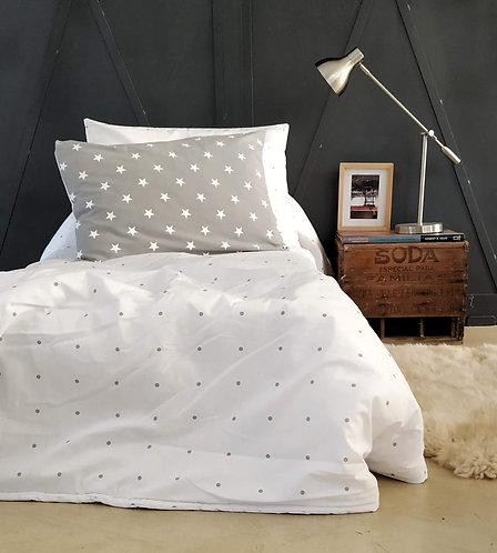 COMBO cama estampado+ 2 almohadones 50x70